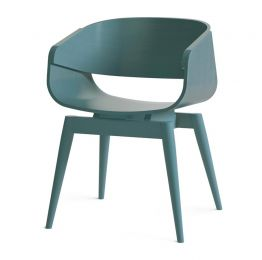 4th Armchair Color in Blue