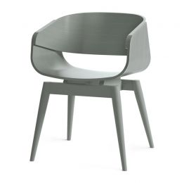 4th Armchair Color in Grey