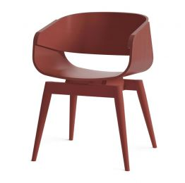 4th Armchair Color in Red