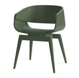 4th Armchair Color Soft in Green