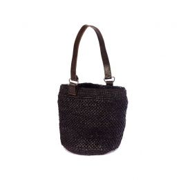 Abby Black Bucket Bag