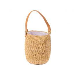 Abby Nude Bucket Bag