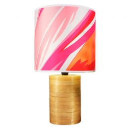 Amaranth Flamingos Lampshade | Chloe Croft
