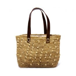 Ana Raffia Handbag | The Noces
