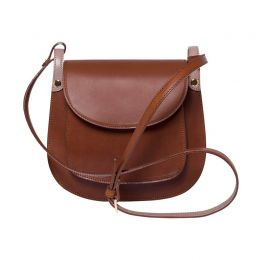 Anglet Brown Crossbody Bag