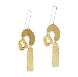 Arb Brass Earrings