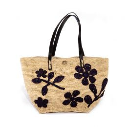 Aude Raffia Handbag | The Noces