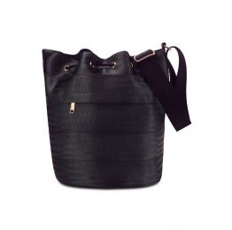 Balsam Black Bucket Bag