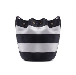 Balsam Black & White Bucket Bag