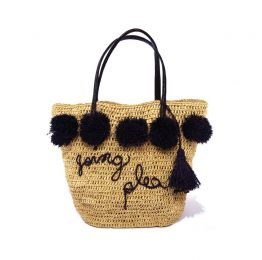 Bea Raffia Handbag | The Noces