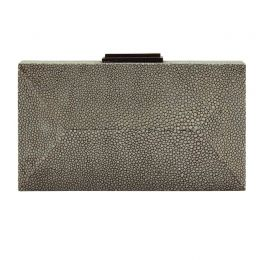 Black Diamond Clutch Stingray Leather | NAMU