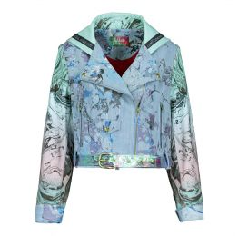 Boso Bike Jacket Denim Marble