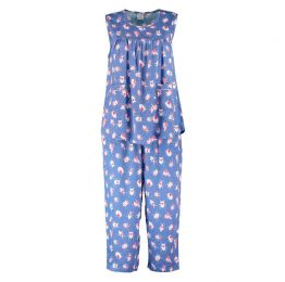 Candy Coloured Critters Midi Sleepwear Set