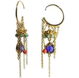 Tassel Bijou Earring by Manish Arora for Amrapali Collaboration