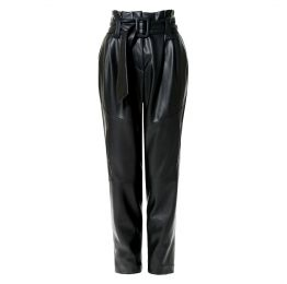 Carrier Cynical Black Patent Vegan Leather Pants