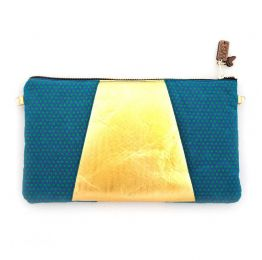 Cleopatra Vegan Clutch With Sling