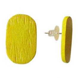 Croma Earrings Yellow