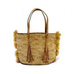 Diana Raffia Handbag | The Noces