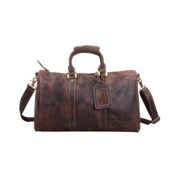 Eazo Vintage Leather Weekend Bag