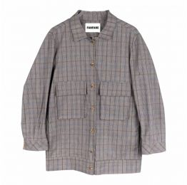 Check Utility Suit Jacket Ethically Made