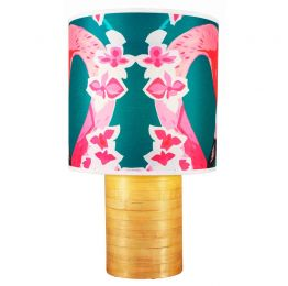 Flamingo Flowers Lampshade | Chloe Croft