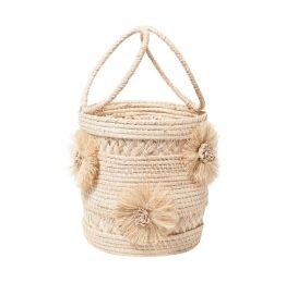 FLOR Natural Bucket Bag