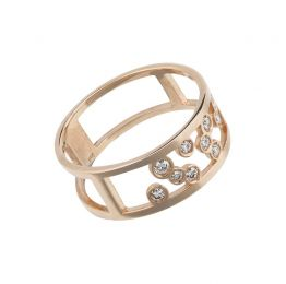 Florø Ring 18K Rose Gold | Afew Jewels