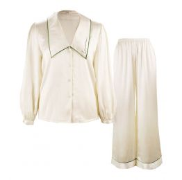 French Style Long Set - Pearl White