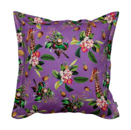 Summer Sorbet Grape Cushion