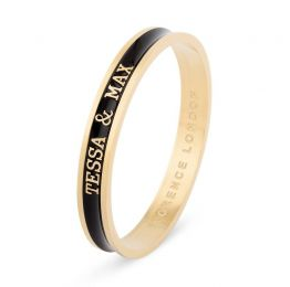 Signature Bangle - Gold & Black