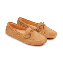 Suede Driving Shoe - Fawn