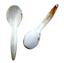 Horn Serving Spoon