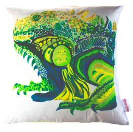 Iguana Cushion | Chloe Croft