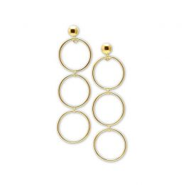 Ines Earrings 18K Gold Plated