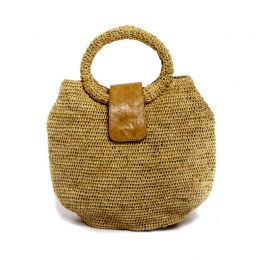 Madeleine Raffia Handbag | The Noces