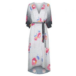Mary Mary Wrap Dress in Multi