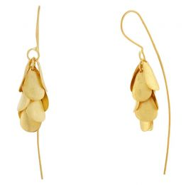 POTC Jewellery - Matte Teardrop Cascade Threader Earrings