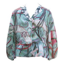 Maya Blouse Love Print
