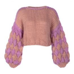 Merino Wool Cropped Jumper