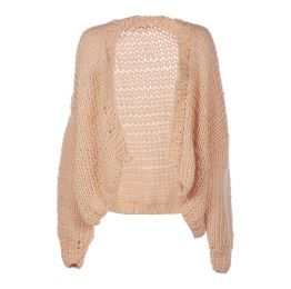 Merino Wool Oversized Cardigan
