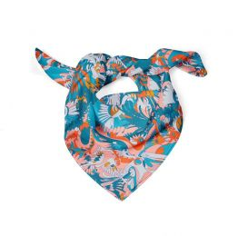 Mexican inspired Silk scarf 2