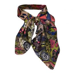 MINU Persian Print Vegan Neck Scarf
