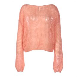 Mohair Blend Oversized Sweater