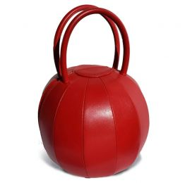 Gaudi Pilo Red Soft Leather Handbag | Nita Suri