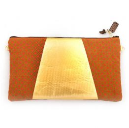 Nzingha Vegan Clutch With Sling