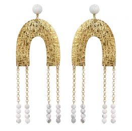 PALI Drop Earrings | Sollis Jewellery