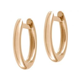 Plain Millennium Hoop Earring (Single) | Jezebel London