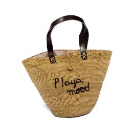 Playa Mood Raffia Handbag | The Noces