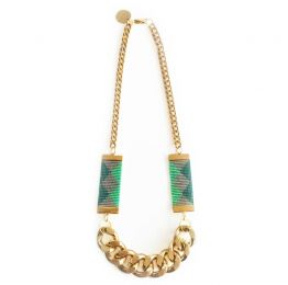Priestess II Necklace - Green | Shh by Sadie