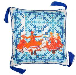 Pushkar Silk Cushion